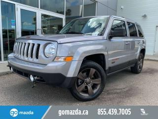 Used 2016 Jeep Patriot 75th Anniversary 4X4 LEATHER SUNROOF for sale in Edmonton, AB
