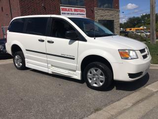 Used 2010 Dodge Grand Caravan BRAUN ENTERVAN WHEELCHAIR ACCESS for sale in Rexdale, ON