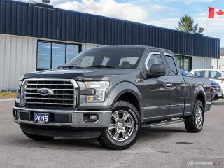 Used 2015 Ford F-150 XLT,SUPERCAB,ONE OWNER,R/V CAM,B.TOOTH for sale in Barrie, ON