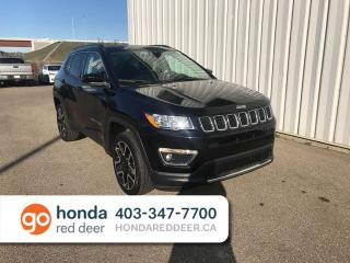 Used 2018 Jeep Compass Limited 4WD Moonroof Back Up Cam for sale in Red Deer, AB