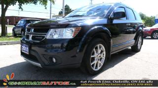 Used 2011 Dodge Journey R/T |NO ACCIDENT|LEATHER|SUNROOF|CERTIFIED for sale in Oakville, ON