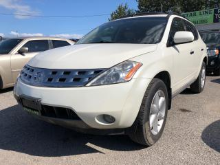 Used 2005 Nissan Murano SL for sale in Pickering, ON