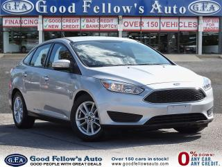 Used 2016 Ford Focus SE MODEL, 2.0L 4CYL FLEX FUEL, REARVIEW CAMERA for sale in Toronto, ON