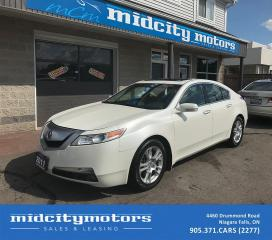 Used 2011 Acura TL Tech Pkg/Backup Cam/Sunroof/Local trade-in for sale in Niagara Falls, ON
