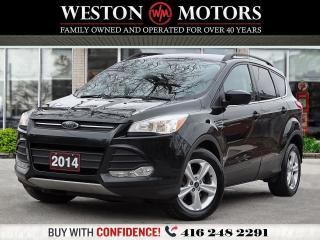 Used 2014 Ford Escape SE*REV CAM*BLUETOOTH* A MUST SEE!!* for sale in Toronto, ON