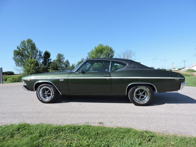 1969 Chevrolet Chevelle SS 396. Automatic. A/C. Financing/shipping