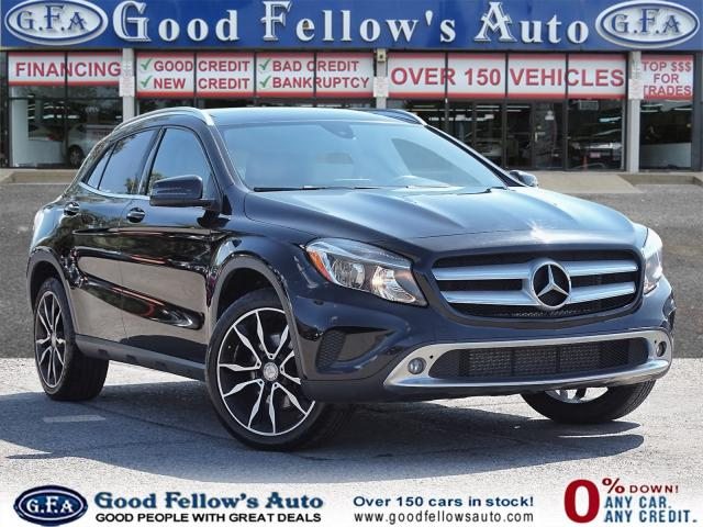 2016 Mercedes-Benz GLA 250 4MATIC, PANORAMIC ROOF, NAVIGATION, LEATHER SEATS