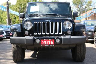 Used 2016 Jeep Wrangler Sahara ACCIDENT FREE for sale in Brampton, ON