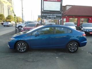 Used 2014 Honda Civic EX / LOADED / REV CAM / ALLOYS / SUNROOF / KEYLESS for sale in Scarborough, ON
