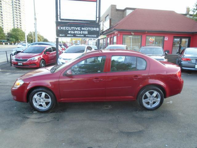 2010 Chevrolet Cobalt LT w/1SA/ LOW KM / CLEAN / A/C / ALLOYS /CERTIFIED