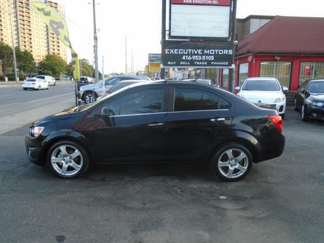 2012 Chevrolet Sonic LT/ ONE OWNER / LOW KM / REMOTE START / LOADED /