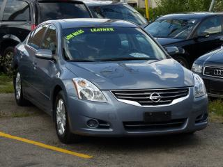 Used 2010 Nissan Altima LEATHER,ONE-OWNER,HEATED-PWR SEATS,BOSE AUDIO,98KM for sale in Mississauga, ON