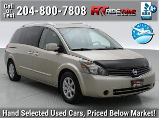 Used 2007 Nissan Quest SL for sale in Winnipeg, MB