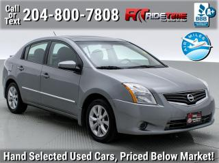 Used 2012 Nissan Sentra 2.0 SL for sale in Winnipeg, MB