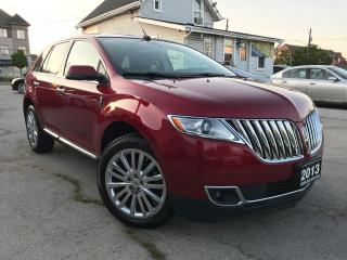 Used 2013 Lincoln MKX AWD|Accident free|One Owner|Navigation|Leather|Sun for sale in Burlington, ON