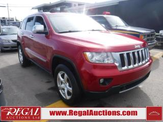 Used 2011 Jeep Grand Cherokee Overland 4D Utility 4WD for sale in Calgary, AB