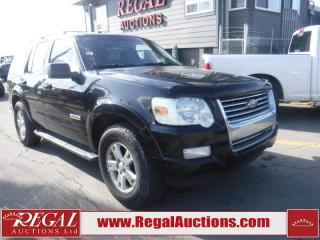 Used 2008 Ford Explorer 4D Utility 4WD for sale in Calgary, AB