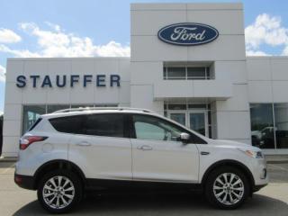 Used 2017 Ford Escape Titanium for sale in Tillsonburg, ON