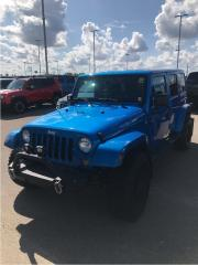 Used 2015 Jeep Wrangler Unlimited UNLIMITED SAHARA, TECH PKG, LIFT, TIRES, RIMS!!! for sale in Fort Saskatchewan, AB