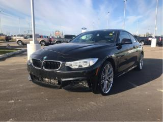 Used 2016 BMW 4 Series BMW 435i XDRIVE, LOADED, LEATHER, MOONROOF, NAVI. for sale in Fort Saskatchewan, AB