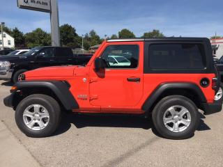 Used 2020 Jeep Wrangler Sport S for sale in Mitchell, ON