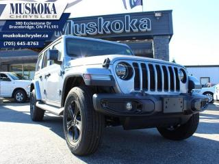 New 2020 Jeep Wrangler Unlimited Sahara Altitude for sale in Bracebridge, ON