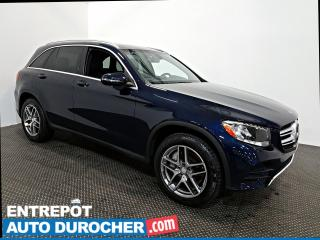 Used 2016 Mercedes-Benz GL-Class GLC 300 AWD NAVIGATION - Toit Ouvrant - A/C - Cuir for sale in Laval, QC