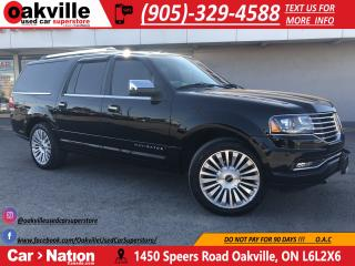 Used 2017 Lincoln Navigator SELECT | NAVI | CAPTAINS CHAIRS | SUNROOF | DVDS for sale in Oakville, ON