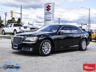 Used 2012 Chrysler 300 Limited ~292 HP 3.6L V6 ~8-Speed ~Nav ~Leather for sale in Barrie, ON