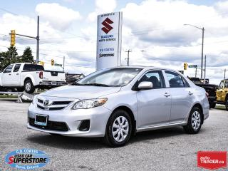 Used 2013 Toyota Corolla CE ~Power Moonroof ~VERY CLEAN! for sale in Barrie, ON