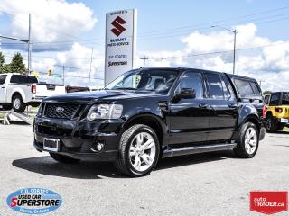 Used 2010 Ford Explorer Sport Trac Adrenalin AWD ~4.6L V8 ~Nav ~Heated Leather ~Roof for sale in Barrie, ON