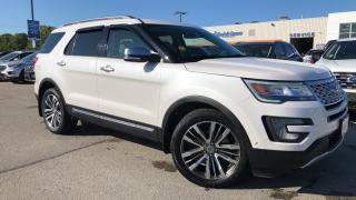 Used 2017 Ford Explorer PLATINUM 3.5L V6 ECO LEATHER HEATED / COOLED ... for sale in Midland, ON