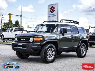 Used 2012 Toyota FJ Cruiser 4x4 for sale in Barrie, ON