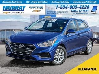Used 2019 Hyundai Accent *Rear View Camera, Heated Seats, Bluetooth* for sale in Winnipeg, MB