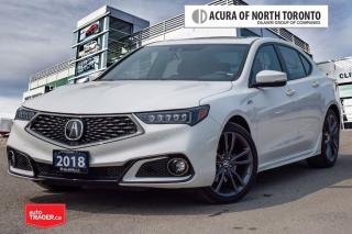 Used 2018 Acura TLX 3.5L SH-AWD w/Tech Pkg A-Spec Red Apple Car Play| for sale in Thornhill, ON