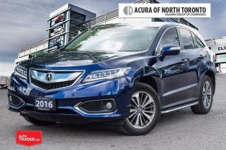 Used 2016 Acura RDX Elite at Remote Start| New Brakes and Rotors for sale in Thornhill, ON