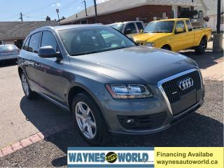 Used 2012 Audi Q5 2.0L Premium*Panoramic Sunroof*Leather*AWD for sale in Hamilton, ON