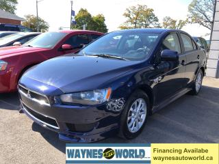 Used 2013 Mitsubishi Lancer SE for sale in Hamilton, ON