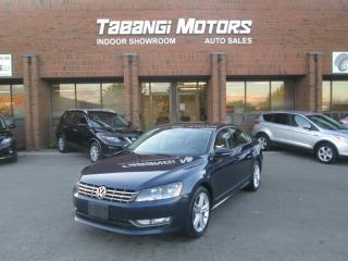Used 2012 Volkswagen Passat TDI | HIGHLINE| NO ACCIDENTS | NAVIGATION | LEATHER | BT for sale in Mississauga, ON