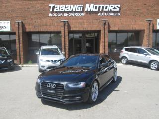 Used 2015 Audi A4 PROGRESSIVE PLUS | NO ACCIDENTS | S-LINE W/SPORT| NAVIGATION for sale in Mississauga, ON