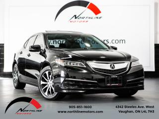 Used 2015 Acura TLX Tech Pkg|Navigation|Lane Keep|Blindspot|Camera|Leather for sale in Vaughan, ON