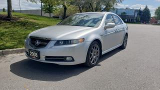 Used 2008 Acura TL 4dr Sdn Auto Type-S | Navigation | 1 Owner | Accident-Free for sale in Vaughan, ON