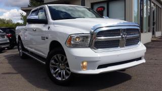Used 2015 RAM 1500 LARAMIE LIMITED CREW CAB 4WD - LEATHER! SUNROOF! NAV! BACK-UP CAM! for sale in Kitchener, ON