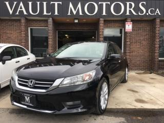 Used 2014 Honda Accord Sedan Touring LEATHER SEATS BACKUP CAMERA for sale in Brampton, ON
