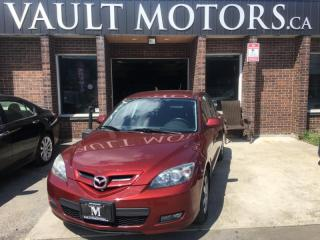 Used 2009 Mazda MAZDA3 HB Sport GX NO ACCIDENTS ONTARIO VEHICLE for sale in Brampton, ON