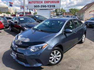 Used 2016 Toyota Corolla LE Backup Camera/Heated Seats/Bluetooth&GPS* for sale in Mississauga, ON