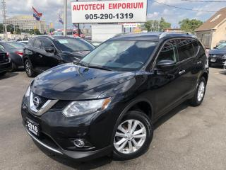 Used 2016 Nissan Rogue SV TECH AWD Navigation/Blind Spot/360 Cam/Pano Roof for sale in Mississauga, ON
