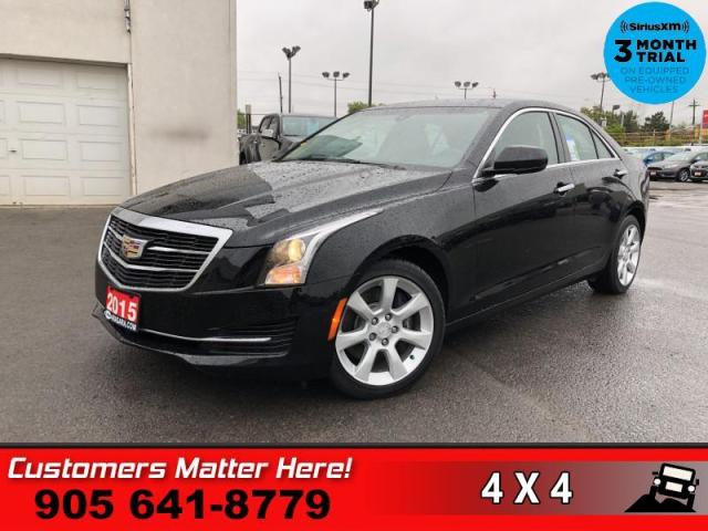 2015 Cadillac ATS 2.0 Turbo  AWD LEATHER CAM HTD-STS BT