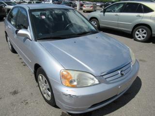 Used 2003 Honda Civic 2003 Honda Civic - 4dr Sdn LX Auto for sale in Toronto, ON