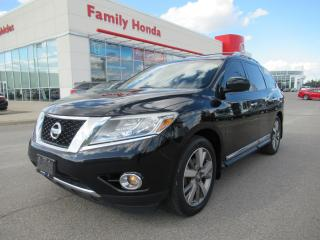 Used 2014 Nissan Pathfinder Platinum, NAVIGATION, REAR ENTERTAINMENT for sale in Brampton, ON